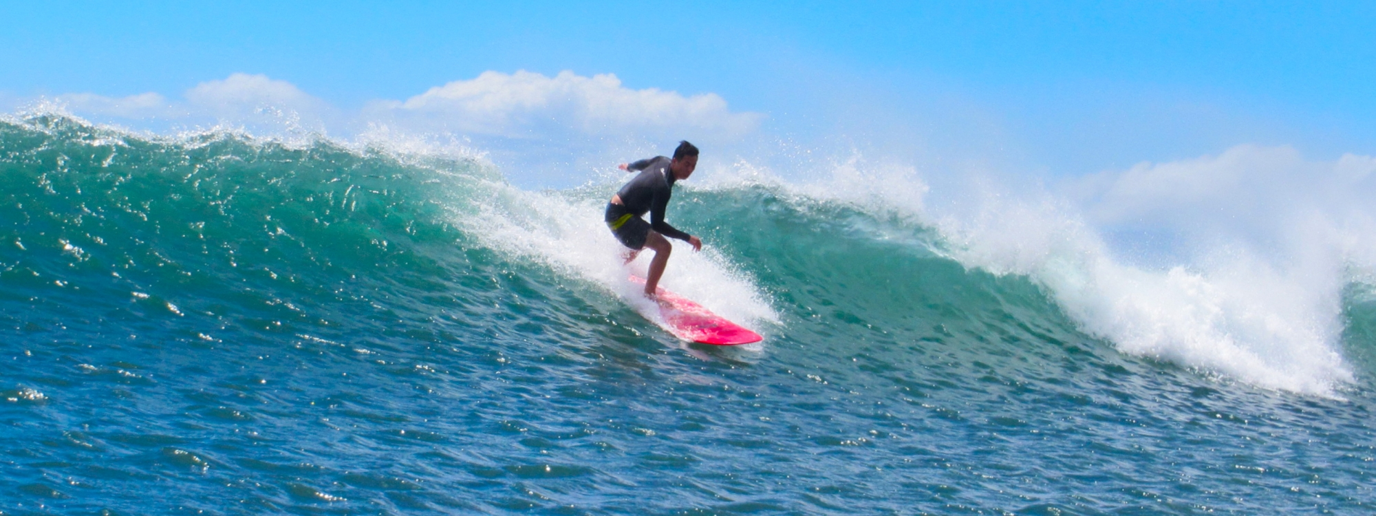 Surf Tour Guest Stephan Phan Enjoying Perfect Waves With No Crowds On Maui's South Shore.