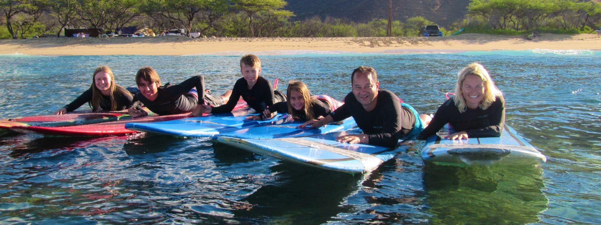 Soul Surfing Maui's Beginner Lesson Program Is An Awesome Family Adventure That Will Have Everyone Smiling Big Time !